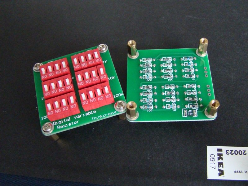 Digital Variable Resistor Think Create Deqing Sun